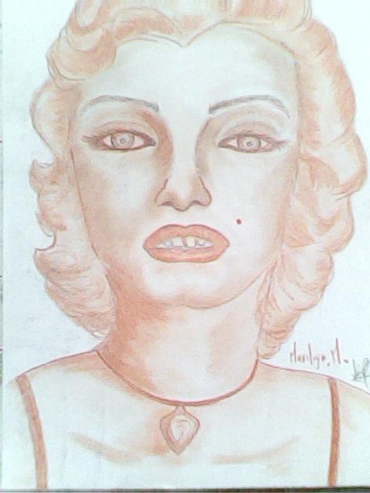 Marilyn Monroe by keiilapeppers